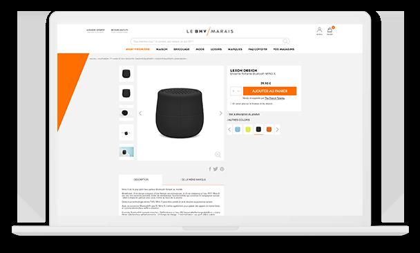 bhv desktop produit