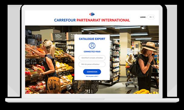 carrefour international connexion desktop