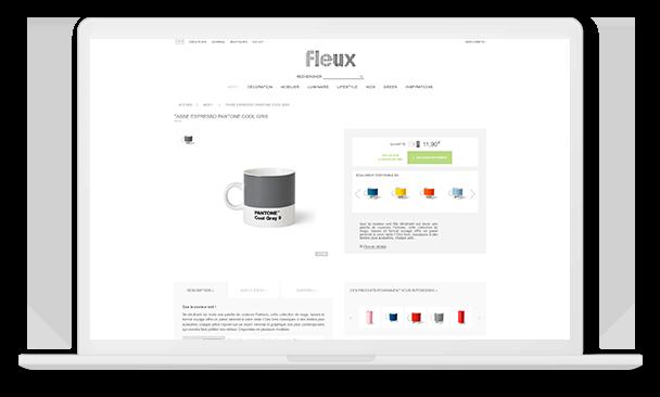 fleux desktop détail produit