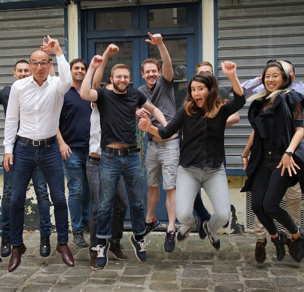 photo de l'équipe calliweb à paris - recrutement